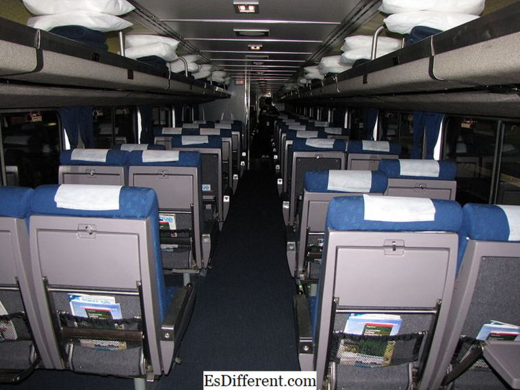 Unterschied zwischen Amtrak Coach und Business Class | Amtrak-Coach vs Business-Class