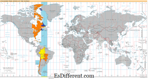 Differenza tra EDT e GMT