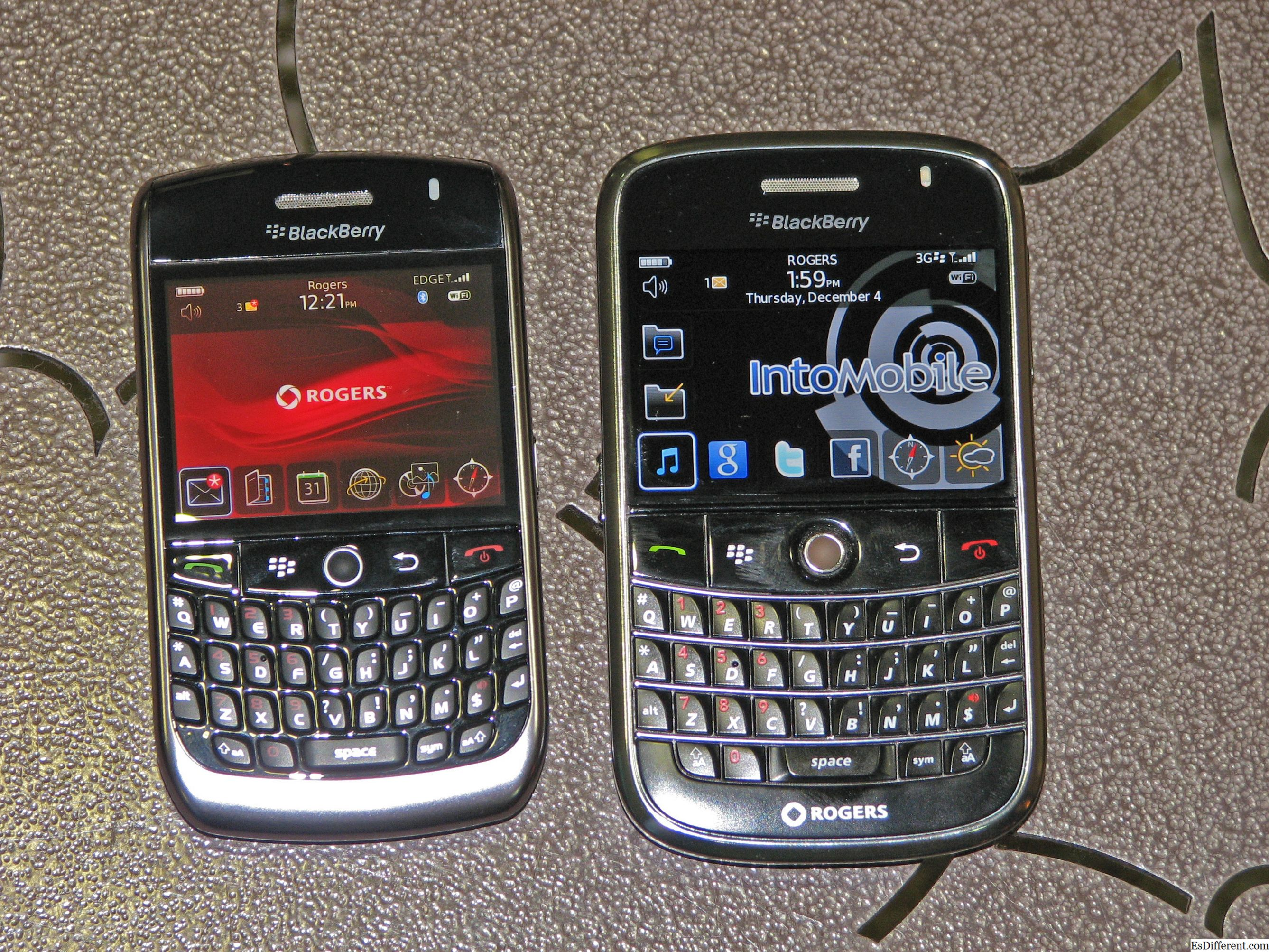 Blackberry Bold 9000 at Bold 9900 Touch Screen
